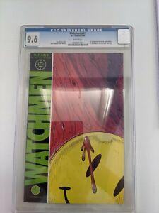 Watchmen #1 CGC graded 9.6 Alan Moore