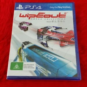 ps4 WIPEOUT OMEGA COLLECTION Game NEW & Sealed REGION FREE PAL UK PS5 Compatible