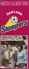 1978 Oakland Stompers Media Guide