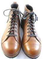 "Allen Edmonds ""ALPINE"" Lace-to-Toe WEATHERPROOF Boots 10 D Tan Grain (342)"