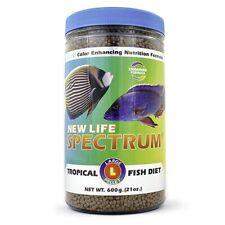 New Life Spectrum Large Pellet Sinking Pellet Tropical Fish Food 3mm 600g