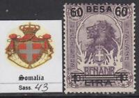 ITALY SOMALIA 1923 Definitive overprinted - Sass. n.43  cv 100$  MNH**