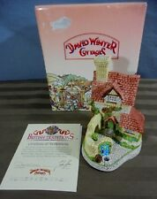 1989 David Winter British Traditions St. Annes Well Cottage Sculpture, Coa & Box
