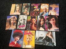 Huge LOT 18p Barbie Magazine Catalog Brochure FAO Sears 1990s-2000s RARE