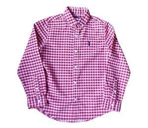 Next Boys Check Shirt Age 7yrs  100% Cotton