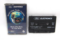 FORD/MERCURY AUDIO SYSTEM DEMO CASSETTE TAPE F5DF-19A197-AA 1980S OEM FACTORY