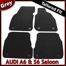 Audi A6 Saloon C5 1997-2005 Fully Tailored Fitted Carpet Car Floor MatsGREY