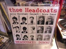 Thee Headcoats Headcoats Down! LP NEW WHITE vinyl Billy Childish UK