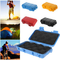 Camping EDC Shockproof Waterproof Box Survival Safety Aid Storage Case Container