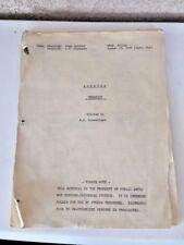 Baretta 1974 Original TV Show Script