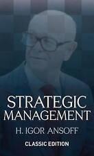 Strategic Management by H. Igor Ansoff (Hardback, 2007)