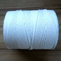 PIPING CORD- POLYESTER- WHITE- GREAT QUALITY CHOOSE YOUR WIDTH & DEPTH ***