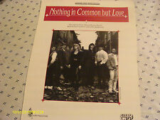 Twister Alley Nothing In Common But Love 1993 Photo Sheet Music