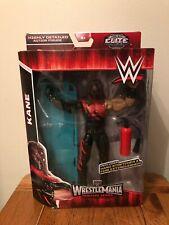 WWE Mattel Elite KANE Masked Wrestling figure Wrestlemania Heritage Series