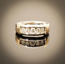 14K Two-Tone Round Brilliant Cut Diamond Ring Appraised at $3820