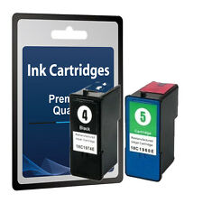 2 Ink Cartridges for Lexmark 4 & 5- X5690 X6690 Z2390 Z2490 Z2690