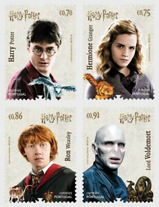 2019  PORTUGAL -  SG:N/A -  HARRY POTTER   - UNMOUNTED MINT  SET