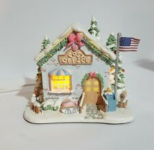 """Hawthorne Village Precious Moments """"Holly-Day Greetings Post Office"""" - funrl exp"""