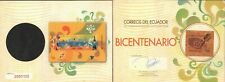 ECUADOR 2009 SPECIAL ALBUM BICENTENARY INDEPENDENCE VERY FULL MNH MN SC# 1973