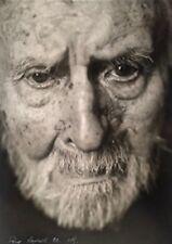 (Surréalisme) MOHROR, Portrait d'ANDRE MASSON. Photo, tirage argentique signé