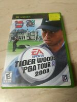 Tiger Woods PGA Tour 2003 (Microsoft Xbox, 2002)