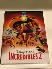 The Incredibles 2 (2018 Dvd) - Brand New - Fast Us Shipping Kid Movies
