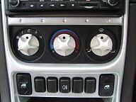 Heater Control Knobs - Anodised MK2 - MGF/MGTF