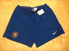 Manchester United Soccer Shorts Kids MUFC England Man Utd Football Hose Boys NEW