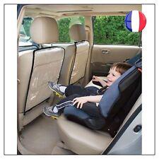 2 Protection Housse Dossier Arrière Siège Auto Voiture Enfant Bébé Neuf