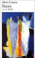 Noces Suivi De L'Ete (Folio Series : No 16) (French Edition) by Albert Camus