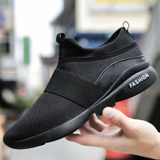 Men's Slip On Sneakers Casual Jogging Walking Outdoor Sports Running Shoes Gym