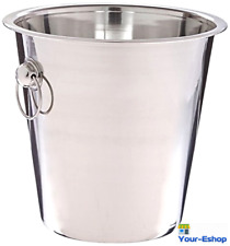 Wine Champagne Ice Bucket Chiller Cooler Beer Beverage Buckets Stainless Steel