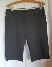 Daisy Fuentes Moda Size 8 Bermuda Walking Shorts Gray