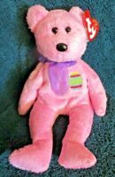 Ty Beanie Baby Eggs the Bear DOB April 23, 2000 MWMT Free Shipping