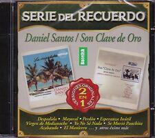 Daniel Santos y Son Clave de oro Serie del Recuerdo Versiones Originales 2EN1 CD