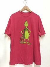 The Grinch Who Stole Christmas T-Shirt Heather Red Mens Dr Seuss Target