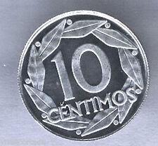 10 Centimos 1959 PROOF @@ F. Franco @ F.N.M.T. @@