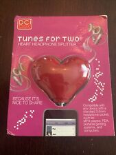 DCI Tunes for Two Heart Headphone Splitter New