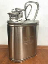 New listing Vintage Eagle Mfg. Co. No.1301 Stainless Steel 1 Gallon Laboratory Safety Can