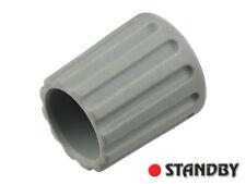 2pcs Classic collet knob 14,5 mm matt gray, ELMA 020-3115, Shaft 3mm, ROHS