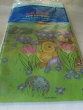 """*Party Creations Plastic Tablecloth*48"""" X 88""""(121.92cm x 223.52cm)*New*Sealed"""