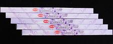 40 Sticks 5 Packs Vanilla Fragrance Incense Natural Sweet Scent Insence BULK Hem