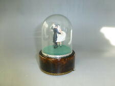 VINTAGE REUGE DANCING COUPLE BALLERINA MUSIC BOX AUTOMATON (WATCH THE VIDEO)