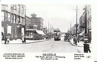 London Postcard - Old Acton 11 - High Street East End c1910 - The Windmill  U46