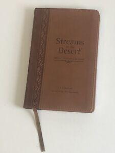 Streams in the Desert : 366 Daily Devotional Readings by Zondervan Staff, Jim...