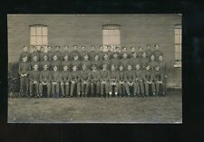 Military Air Force RAF group photo many signatures Porter S/Ld RP PPC c1930/40s?