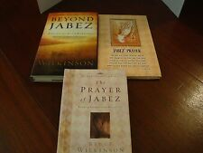 "Jabez Collection - Book, Journal (unused), and ""Beyond Jabez""  Book   Used"