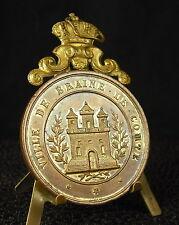 * Médaille Belgique Ville belge de Brain le Comte Festival de musique 1895 medal
