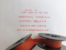 Hermes Baby 1000 Red Ink Typewriter Ribbon + Free Shipping