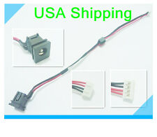 DC power jack in cable harness for TOSHIBA Satellite M200 Series 6017B0105201